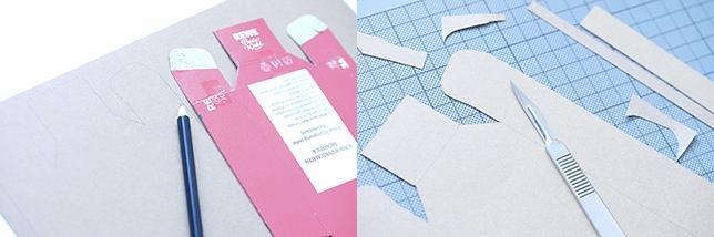 Anleitung für eine Schale aus Kraftpapier Teil 1
