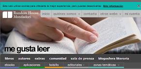 Me gusta leer, página web