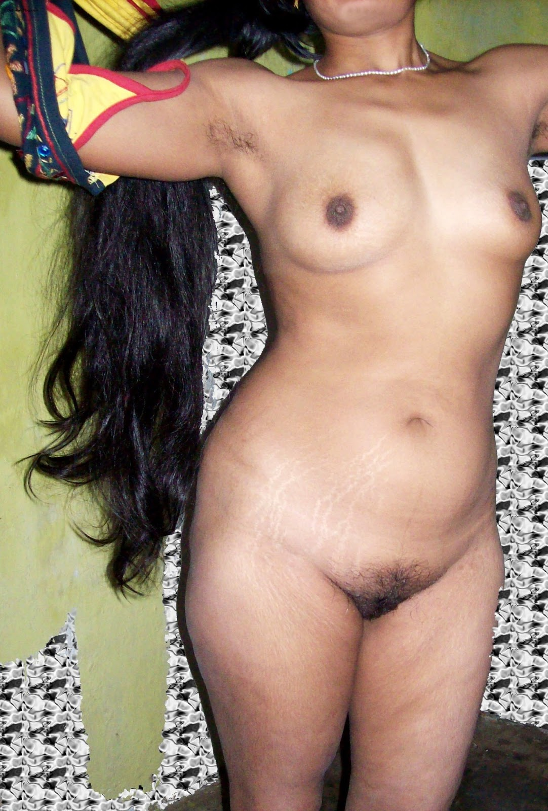 indian long haired girl nude