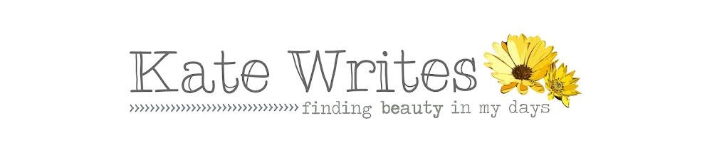 Kate Writes