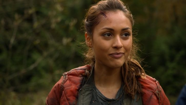 The 100 Season 2 Lindsey Morgan Interview
