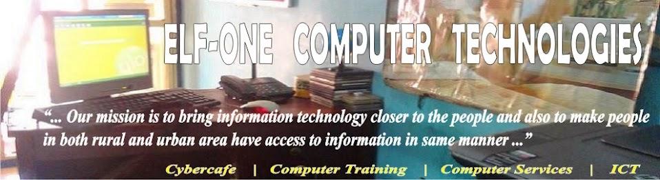 Elf-One   Computer   Technologies