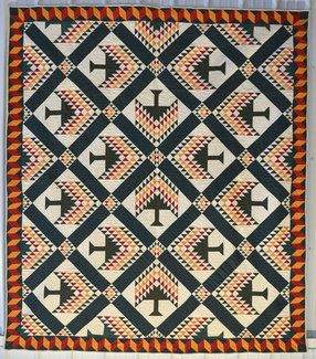 Piecing the Past Quilts: Saturday at the Quilt Museum - Pine Tree ... : pine tree quilts - Adamdwight.com