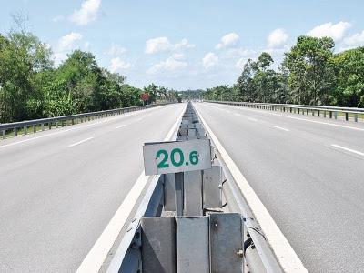 Km 20.6 Lebuh Raya Butterworth Kulim Ekspress (BKE)
