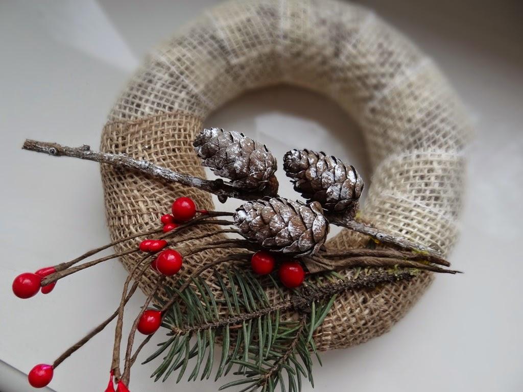 stroik, wianek na drzwi, Boże Narodzenie, dekoracje