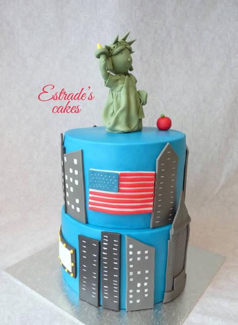 tarta de Nueva York con fondant 5