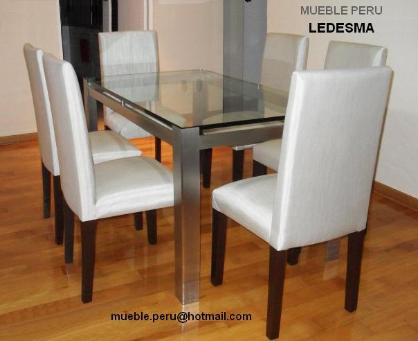 Comedores muebles per comedores de diario for Muebles ledesma