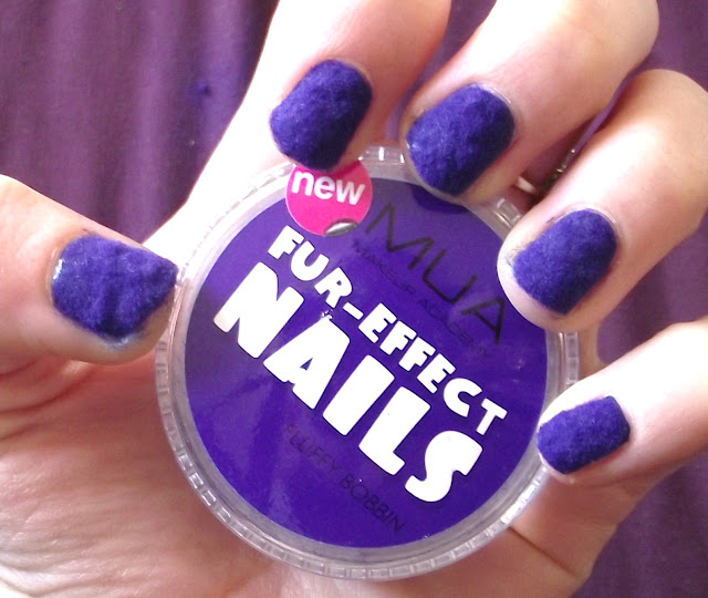MUA Fur Effect Nails Review And Tutorial - Flurry Bobbin Swatch
