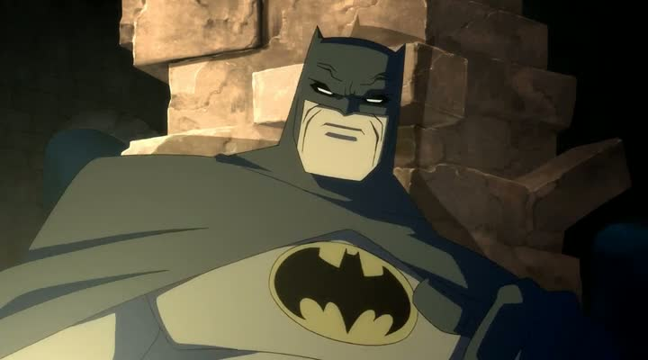 Screen Shot Of Batman The Dark Knight Returns Part 1 (2012) English Movie 300MB Short Size PC Movie