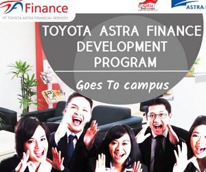Lowongan Kerja PT Toyota Astra Financial Services