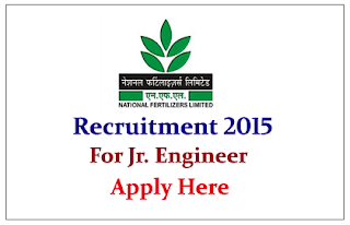 National Fertilizer Limited Recruitment 2015 for the post of Junior Engineer Assistant Grade-II