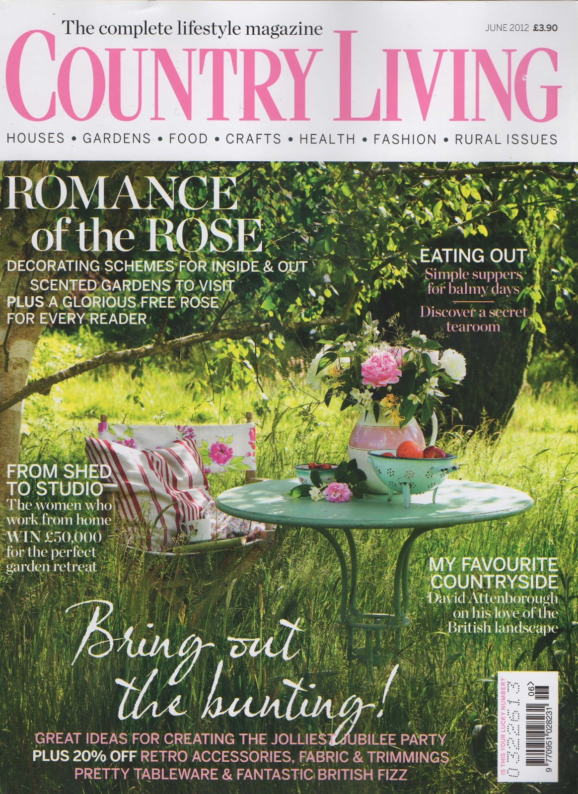 Etonnant Country Living Shoot. Blink And You Miss Us In The June Edition Of UK  Country Living.