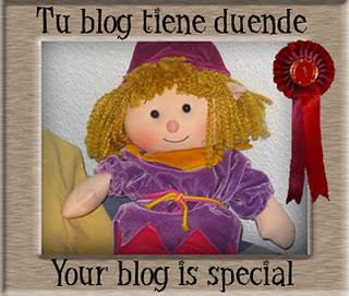 SEGUNDO PREMIO otorgado por MisMellizos y Yo