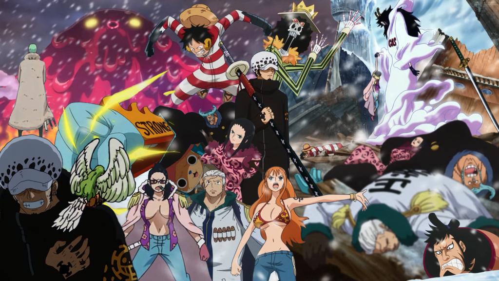 One Piece วันพีช ฤดูกาลที่ 16 (ตอนที่ 579-628) ซับไทย