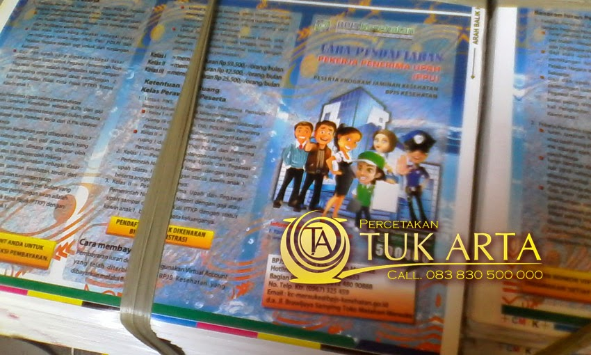 cetak leaflet murah surabaya