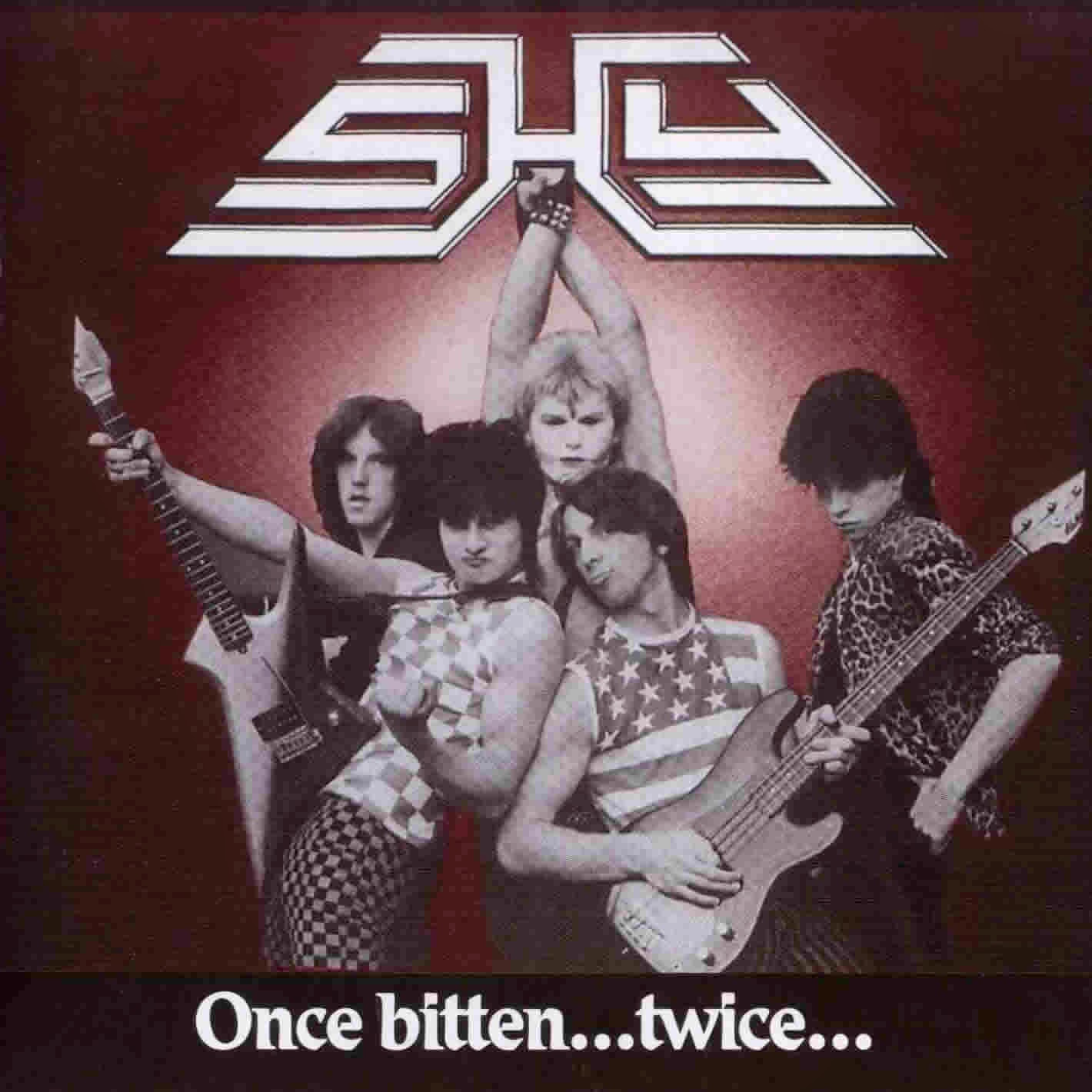 Shy Once bitten twice shy 1983 aor melodic rock music blgospot albums bands