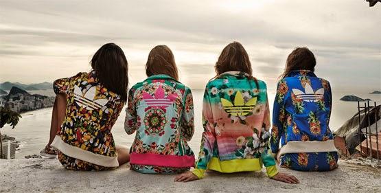 Adidas Originals e Farm coleção jaquetas firebirds