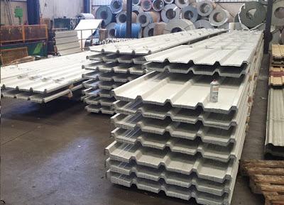 Chapa prelacada o prepintada y chapa trapezoidal taller for Casetas de chapa galvanizada precios