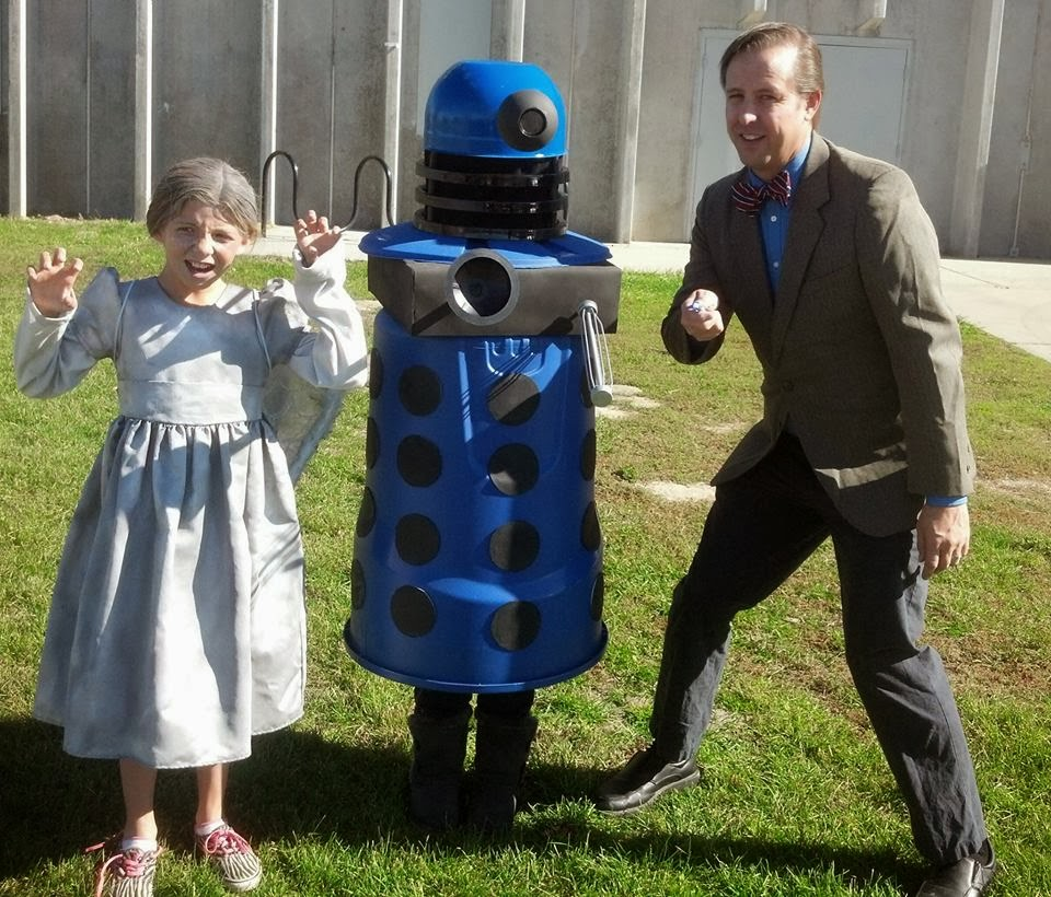 bill's adventures in cosplay: building a dalek costume