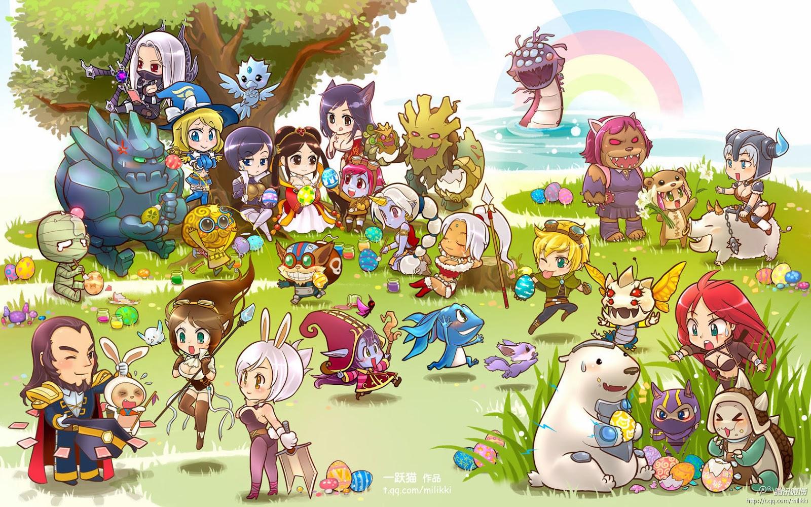 Trong liên minh huyền thoại league of legends wallpaper full hd
