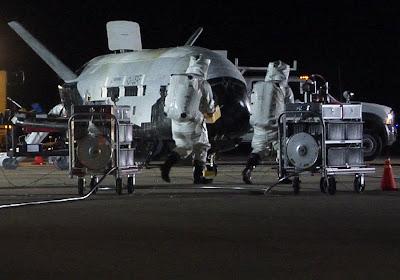 X-37B Space Plane