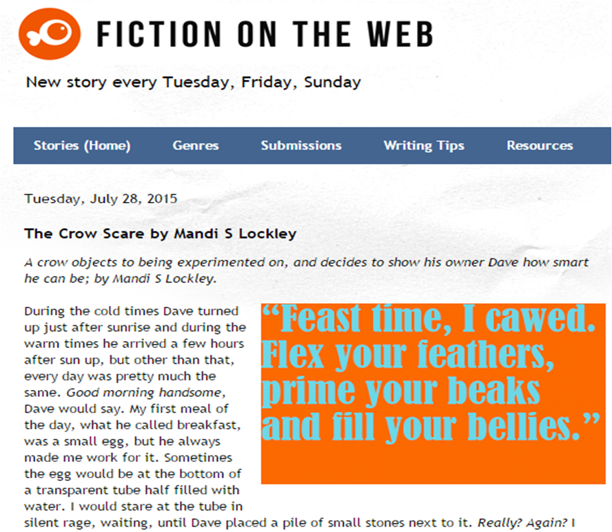 Fiction on the Web
