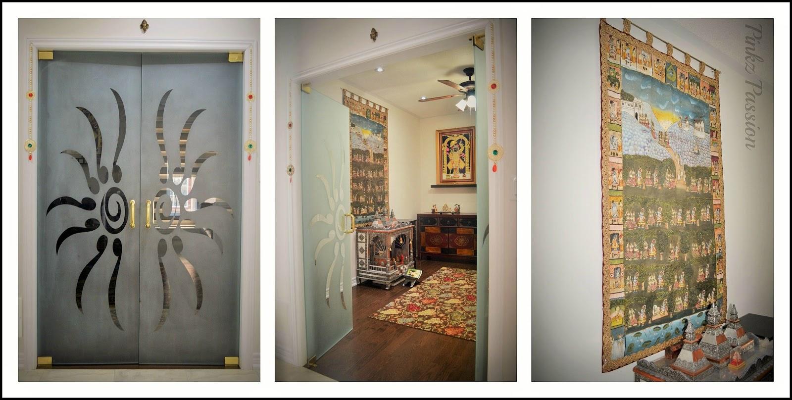Home temple interior design