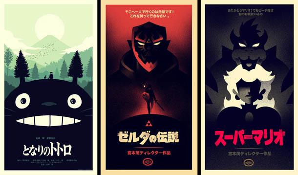 Posters de Cinema minimalistas - Olly Moss