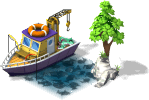 mun fishingboat PKDX 4 - Materiais para a Zona de Pesca no CityVille !