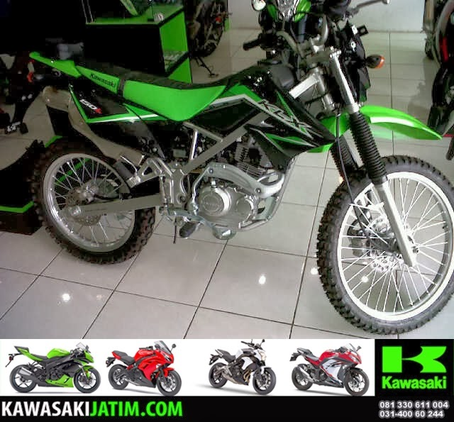 KLX 150L Lime Green