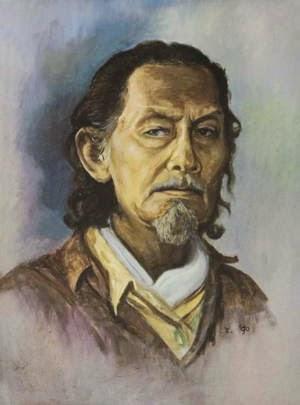 Rustamadji Self Portrait