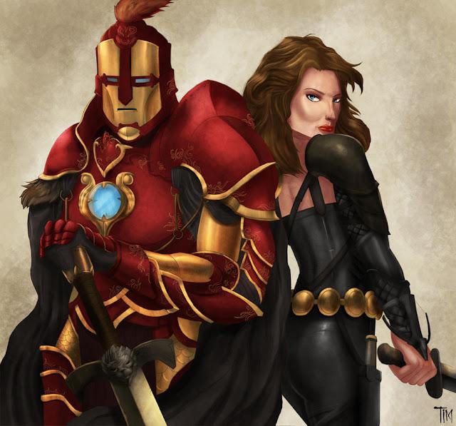 Medieval Avengers por boybalasa