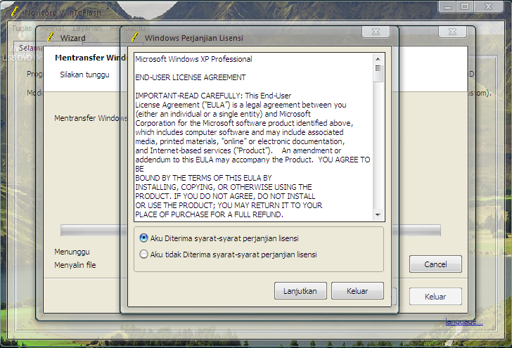 Cara Membuat Bootable Windows XP/Vista Dengan FlashDisk
