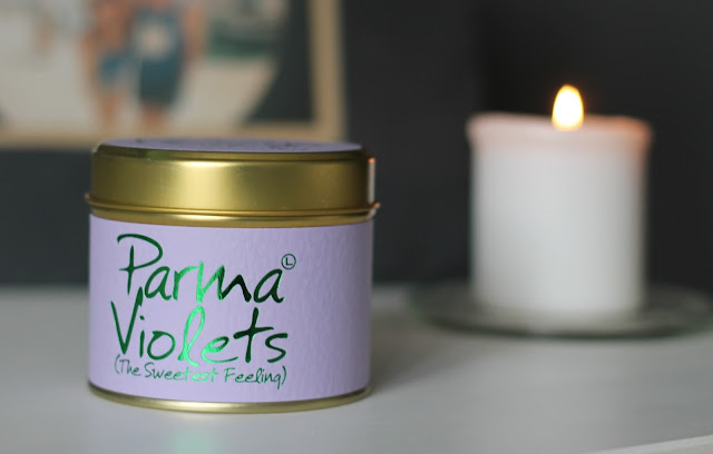 Lily-Flame Parma Violets Candle Review