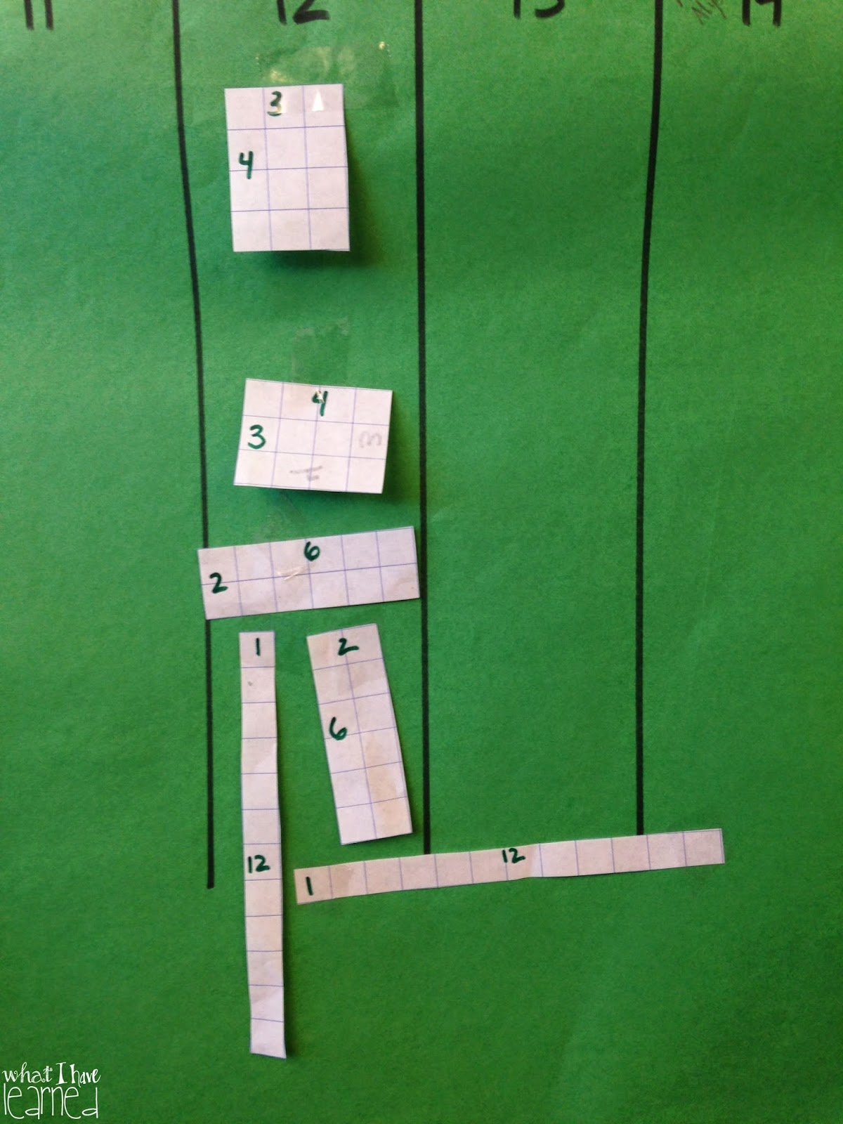 Multiplication Chart Up To 36 I created the chart to go up
