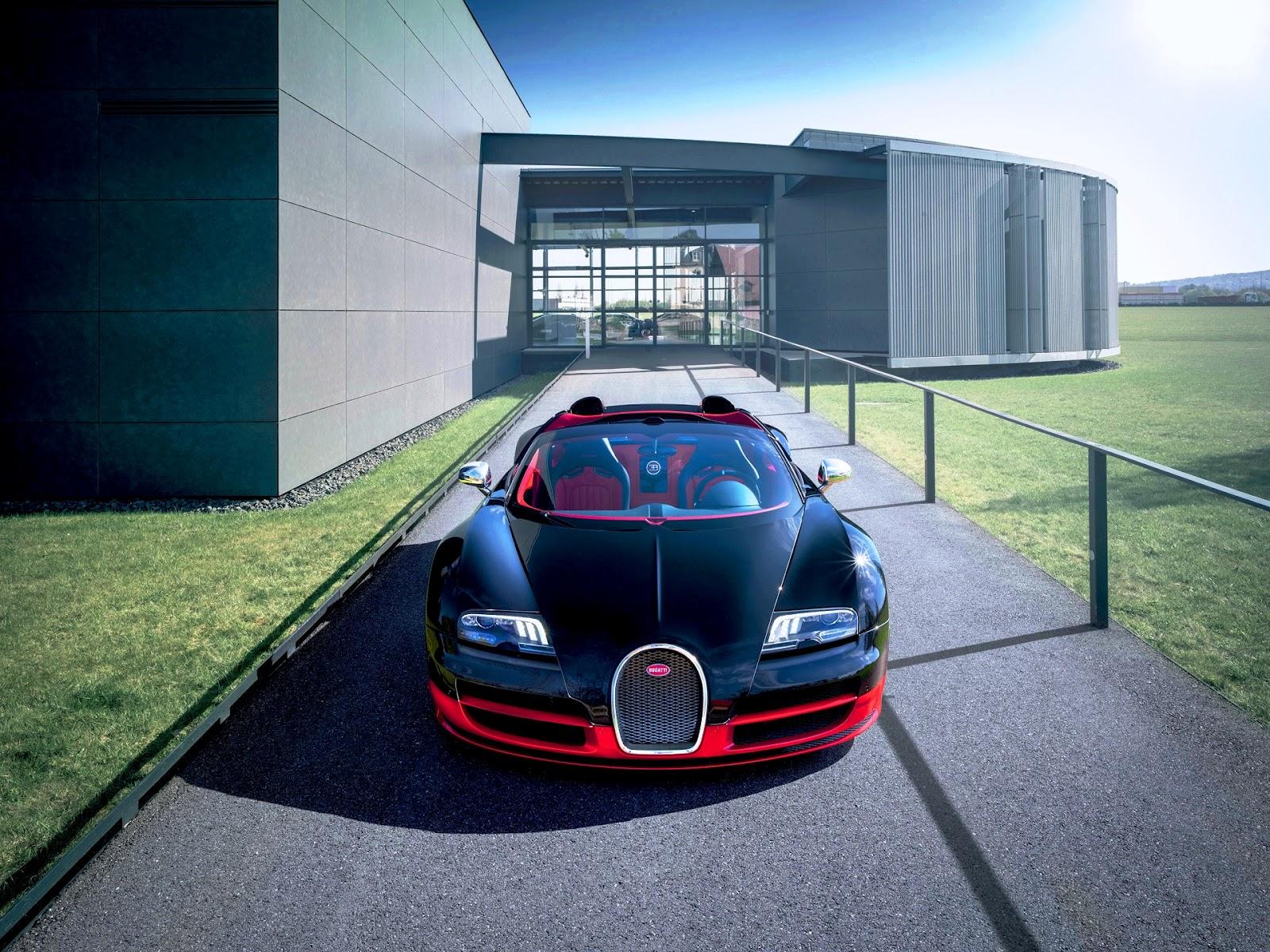2012-Bugatti-Veyron-Grand-Sport-Vitesse-Black-and-Red-Front-1920x1440 Remarkable Bugatti Veyron Grand Sport Vitesse Black and Blue Cars Trend