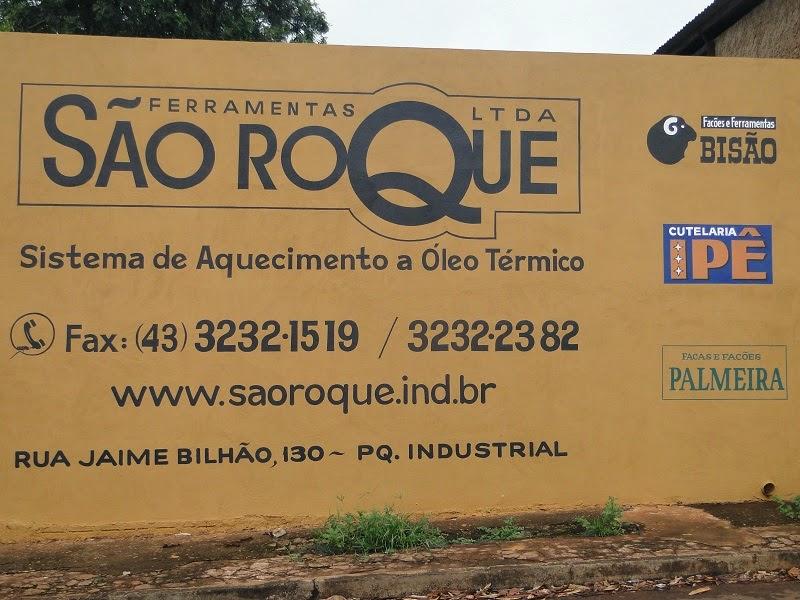 Aqui tem uma imagem da fachada da empresa Ferramentas São Roque