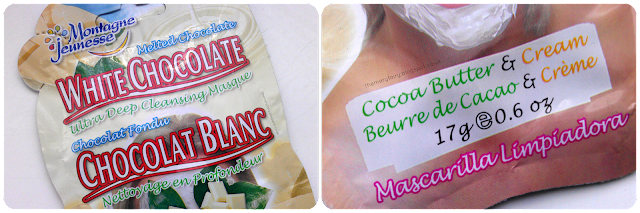 Montagne Jeunesse White Chocolate Ultra Deep Cleansing Masque review