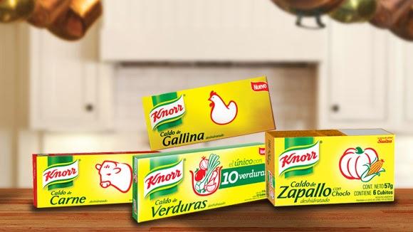 Recetario Knorr