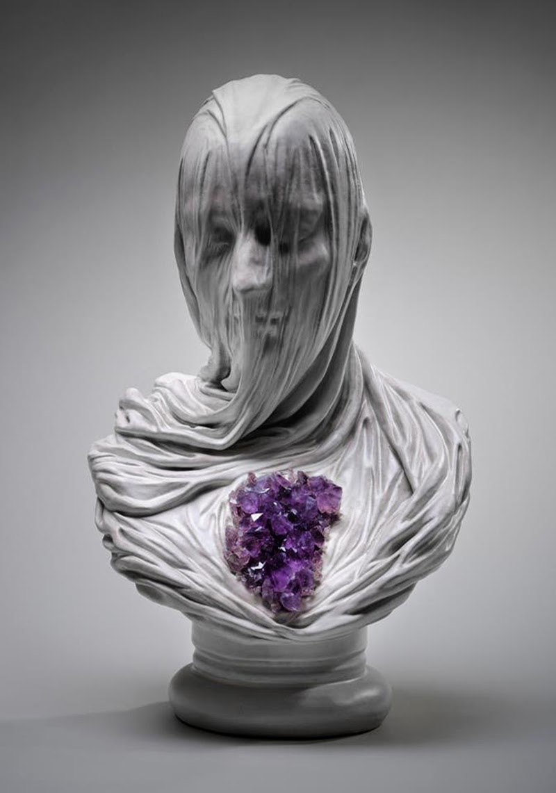 Simply creative veiled souls sculptures by livio scarpella for 3d sculpture artists