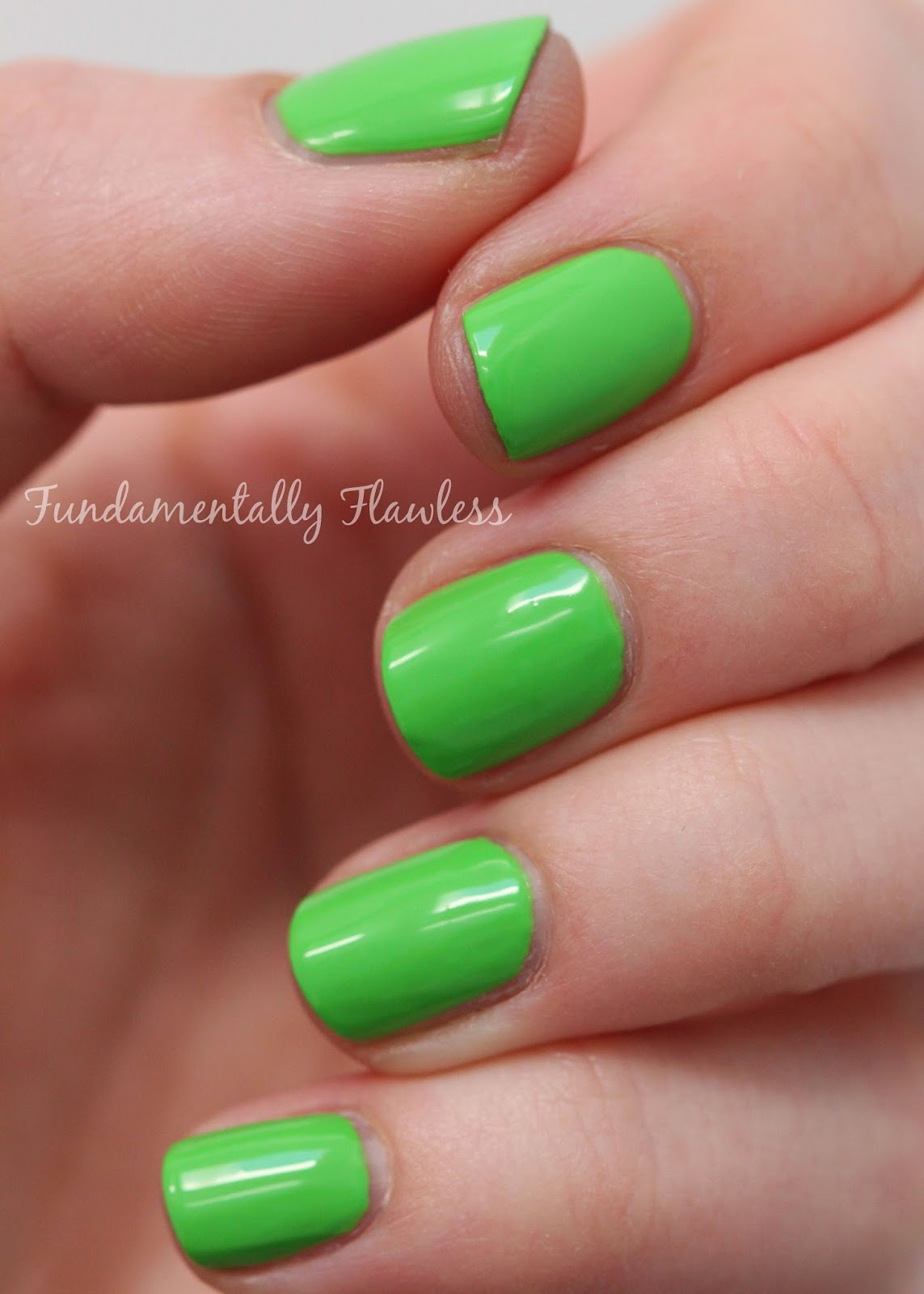Models Own Festival Collection Green Fields swatch