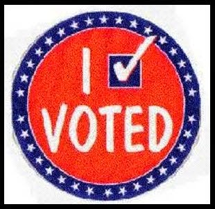 I VOTED TO GET TO THE POLLS