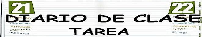 DIARIO DE CLASE Y TAREA