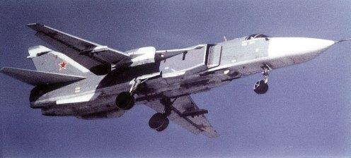 Gambar Sukhoi Su-24 Fencer - Upayawan