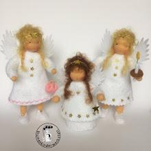 Verschiedene Engel