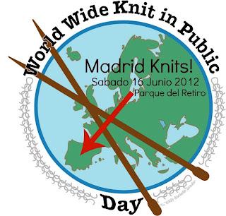 Madrid Knits! WWKIP (Día mundial de tejer en público)