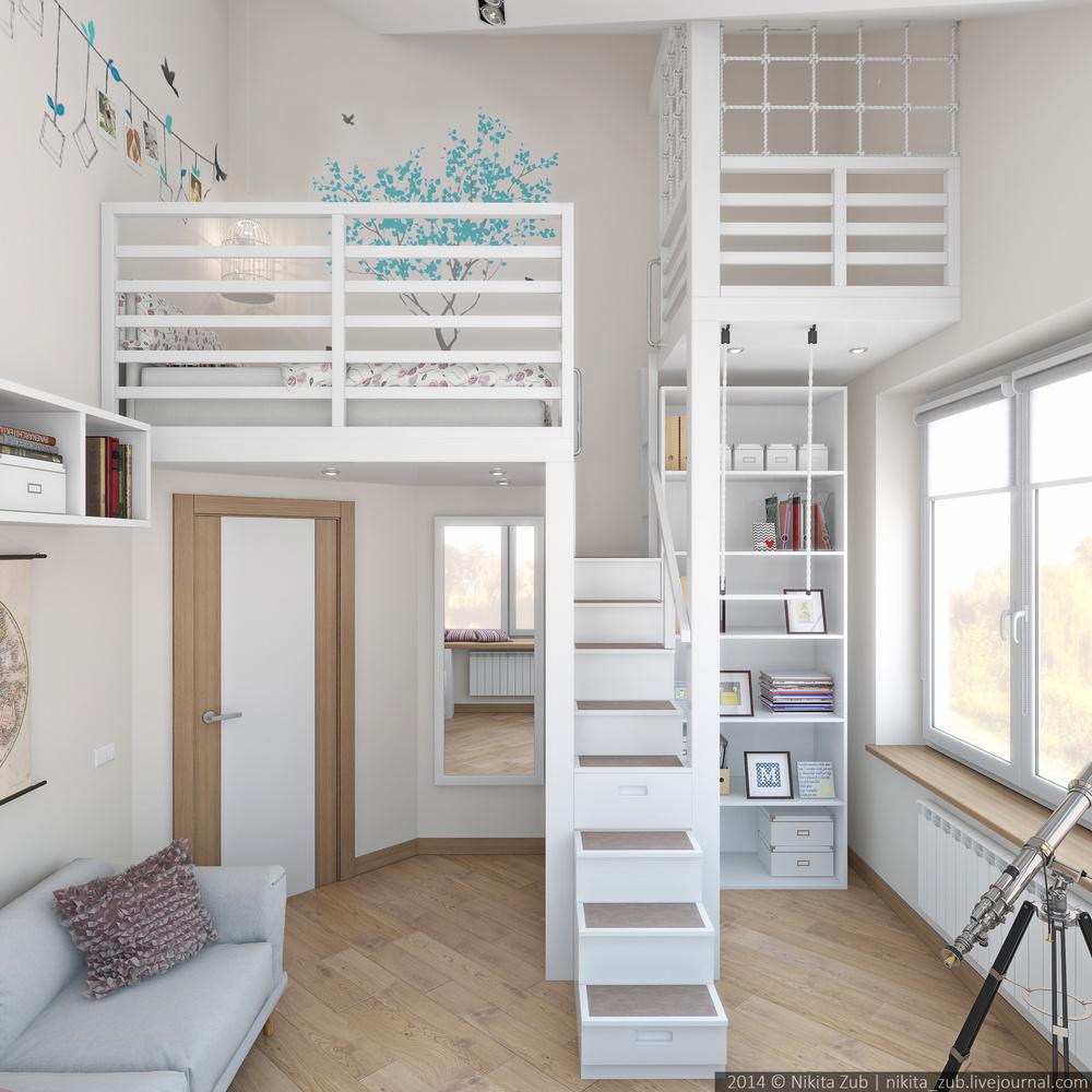 Hogar diez una habitaci n juvenil de altura for Habitacion juvenil hombre