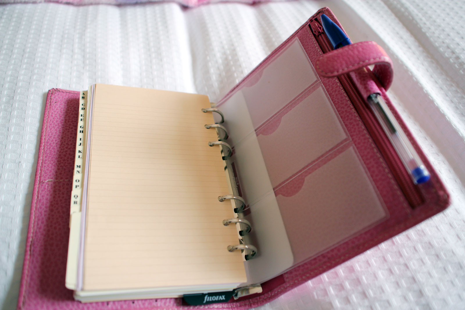 How I Keep Organised Anna Saccone Joly