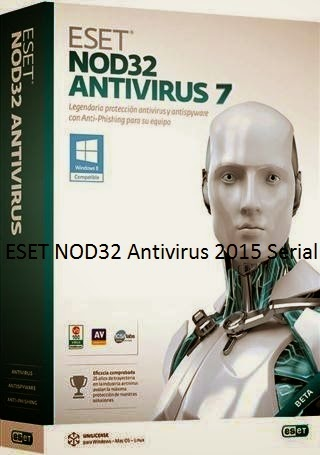 ESET NOD32 Antivirus 2015 Serial License Key Keygen