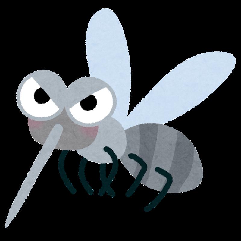 「蚊 イラスト かわいい」の画像検索結果